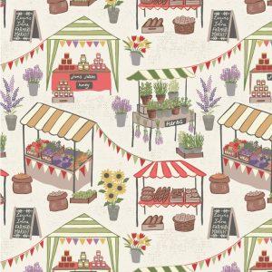 Farmer's Market by Lewis & irene