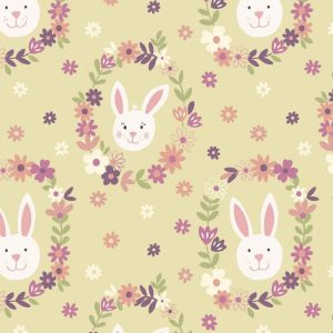 Bunny Garden by Lewis & Irene