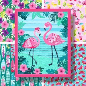 Flamingo Beach by Studio E