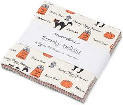 Spooky Delight by Bunny Hill for Moda