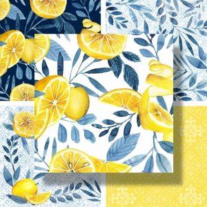 Citrus Sayings by P & B Textiles