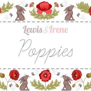 Poppies by Lewis & Irene