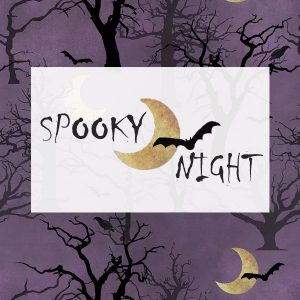 Spooky Night by 3 Wishes Fabric