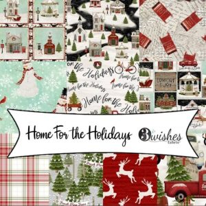 Home for the Holidays by 3 Wishes Fabric